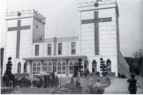 ▲이삭교회 전경