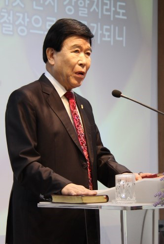 ▲한기총 신천지대책위원장 김노아 목사 ⓒ성경과이단DB