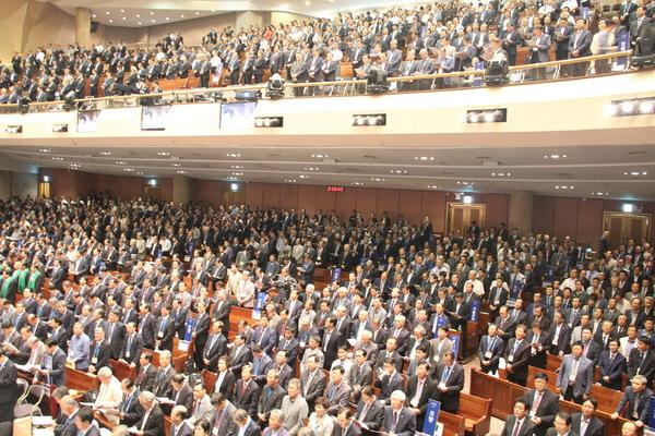 △예장 통합 102회 총회에 참석한 전국의 총대들